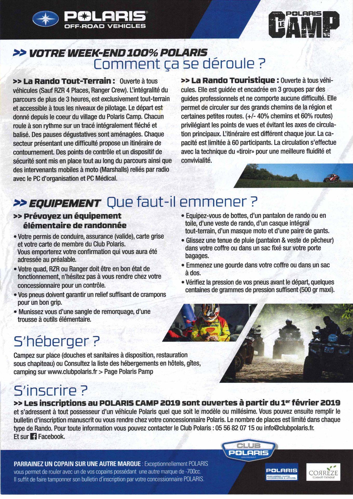 présentation polaris camp 2019-2
